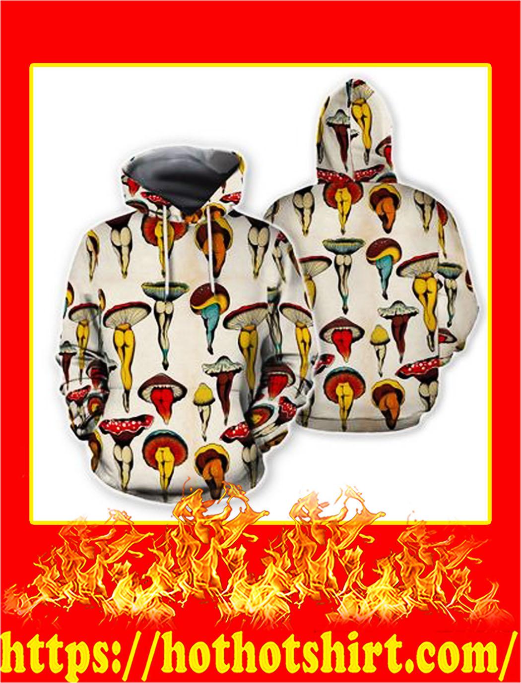 Mushroom body hawaiian hoodie