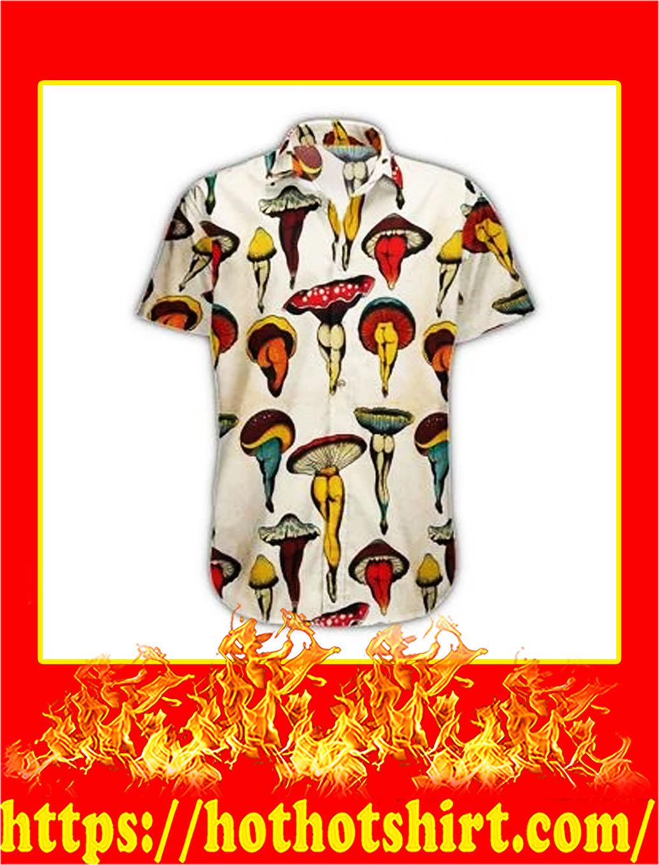 Mushroom body hawaiian shirt