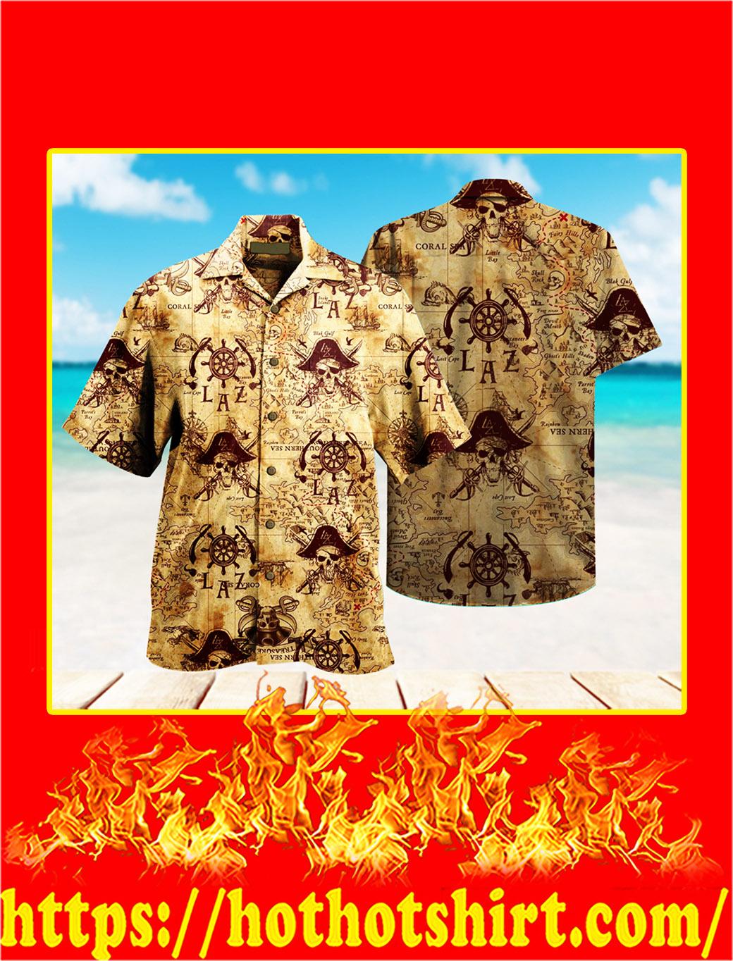 Pirate hawaiian shirt- pic 1