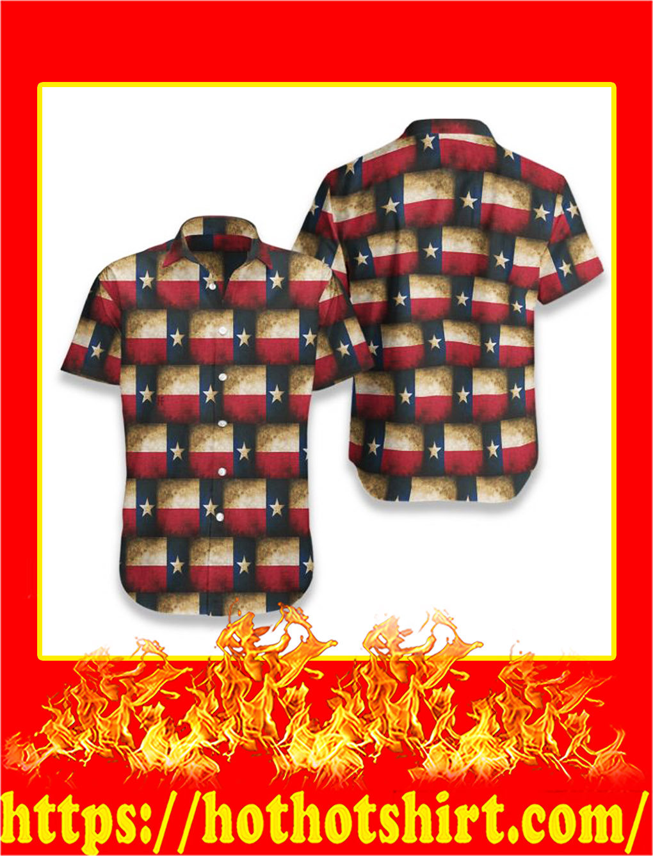 Texas pattern hawaiian shirt - pic 1