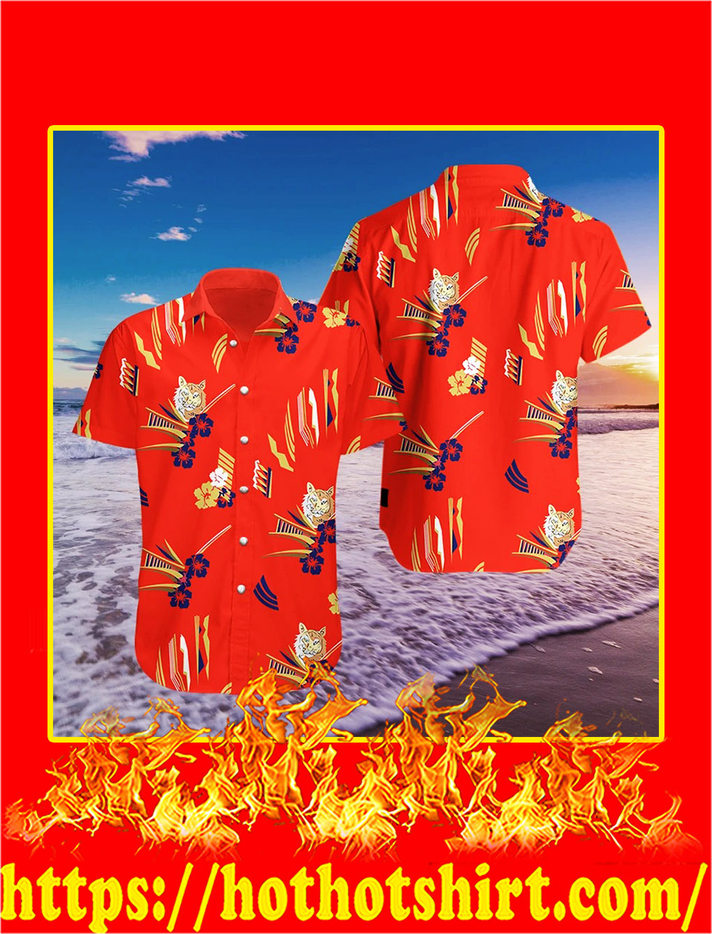 Tony Montana The godfather hawaiian shirt- pic 1