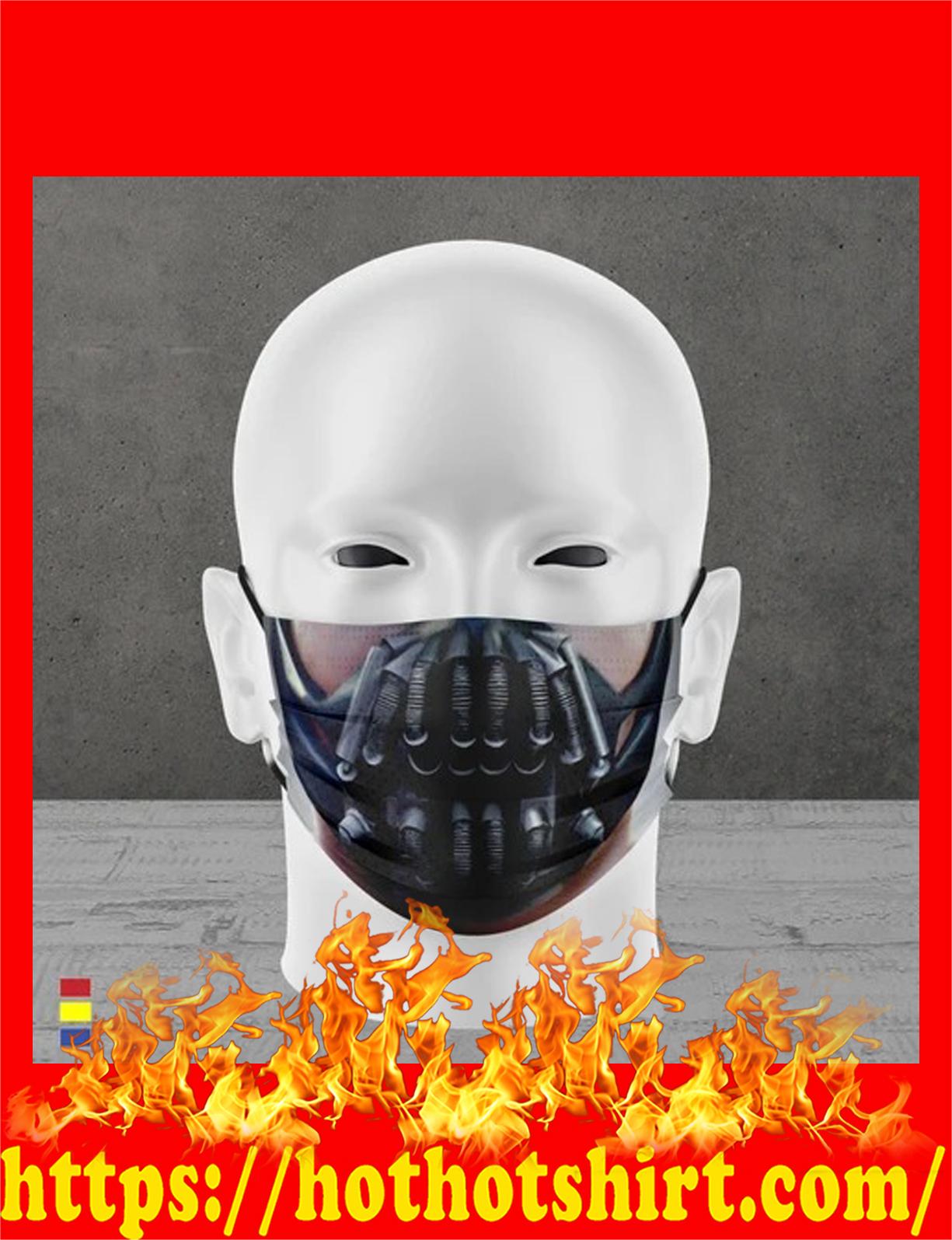 Villain face mask - detail
