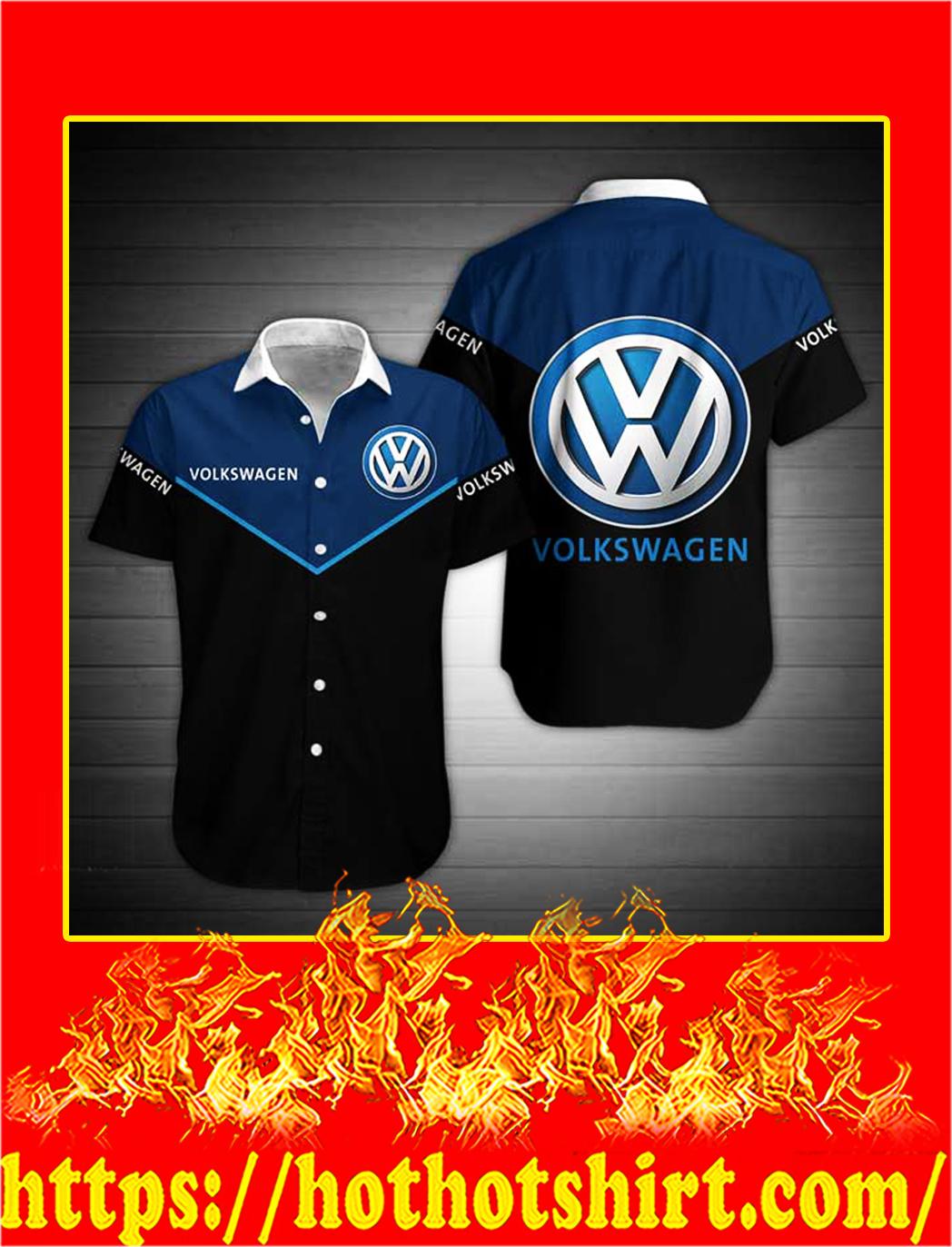 Volkswagen hawaiian shirt - S