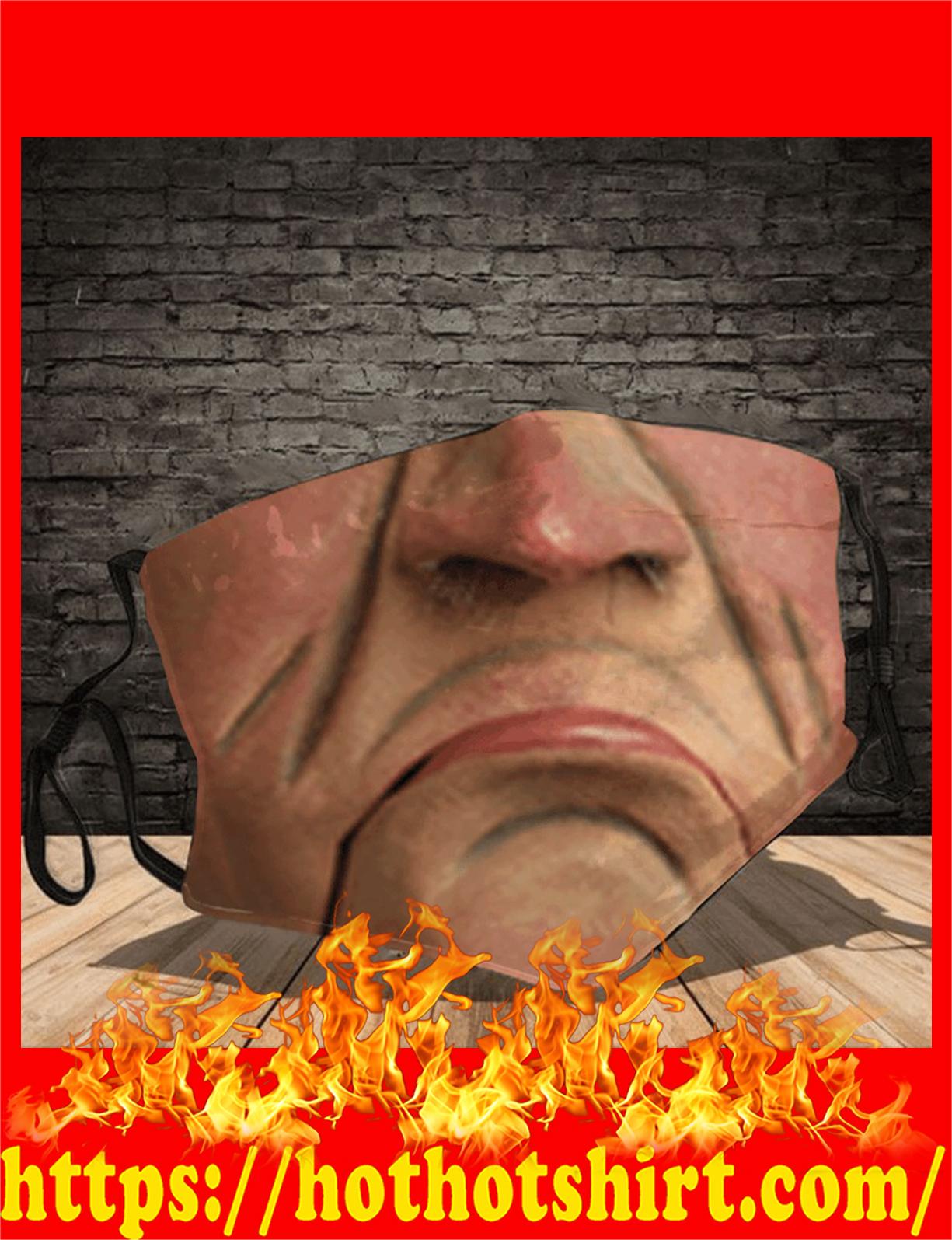 Walter 3d face mask - detail