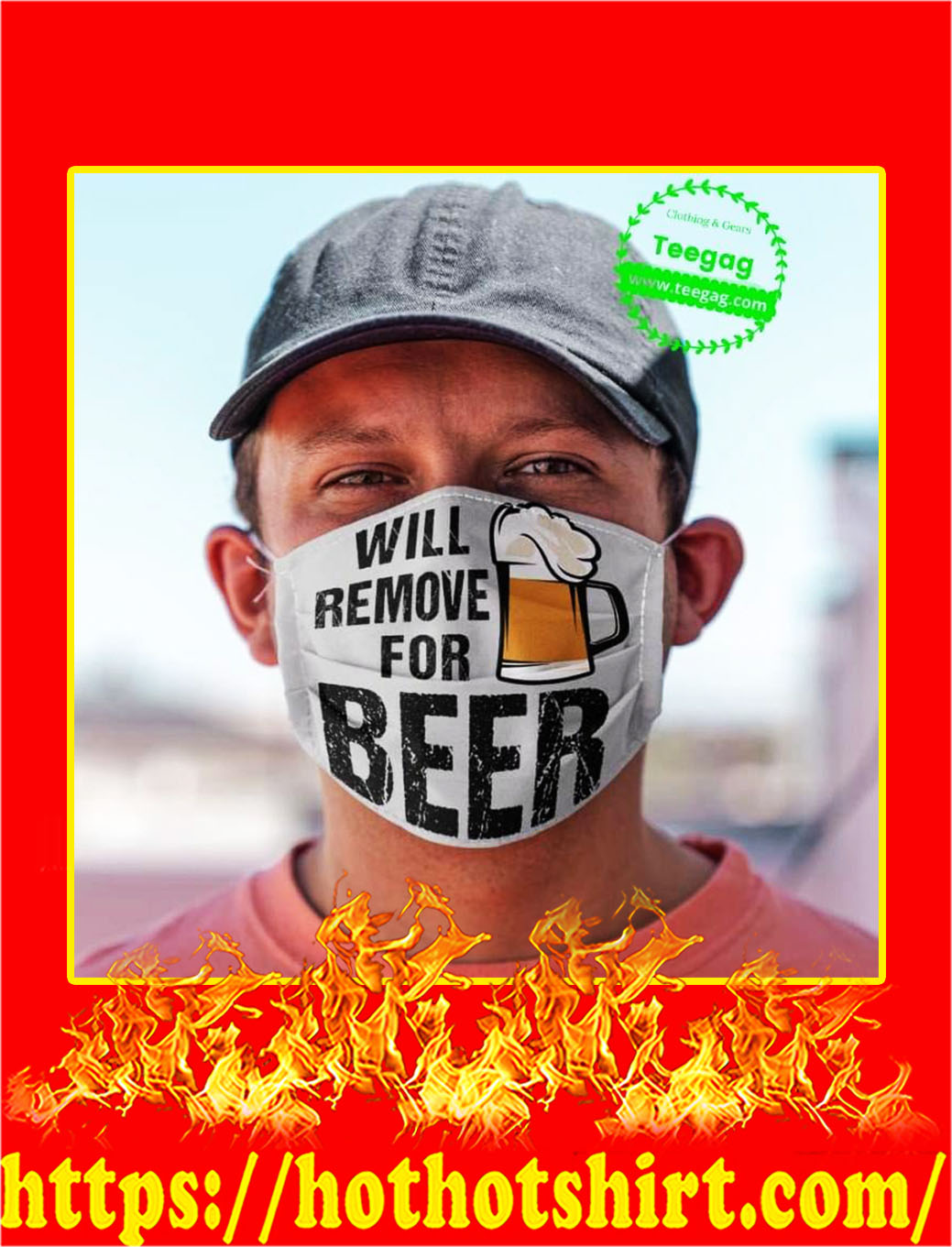 Will remove for beer face mask - pic 1