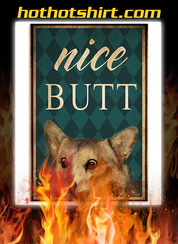 Corgi nice butt poster 3