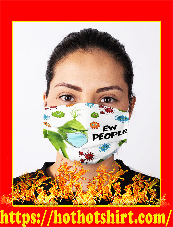 Coronavirus grinch ew people face mask- pic 1
