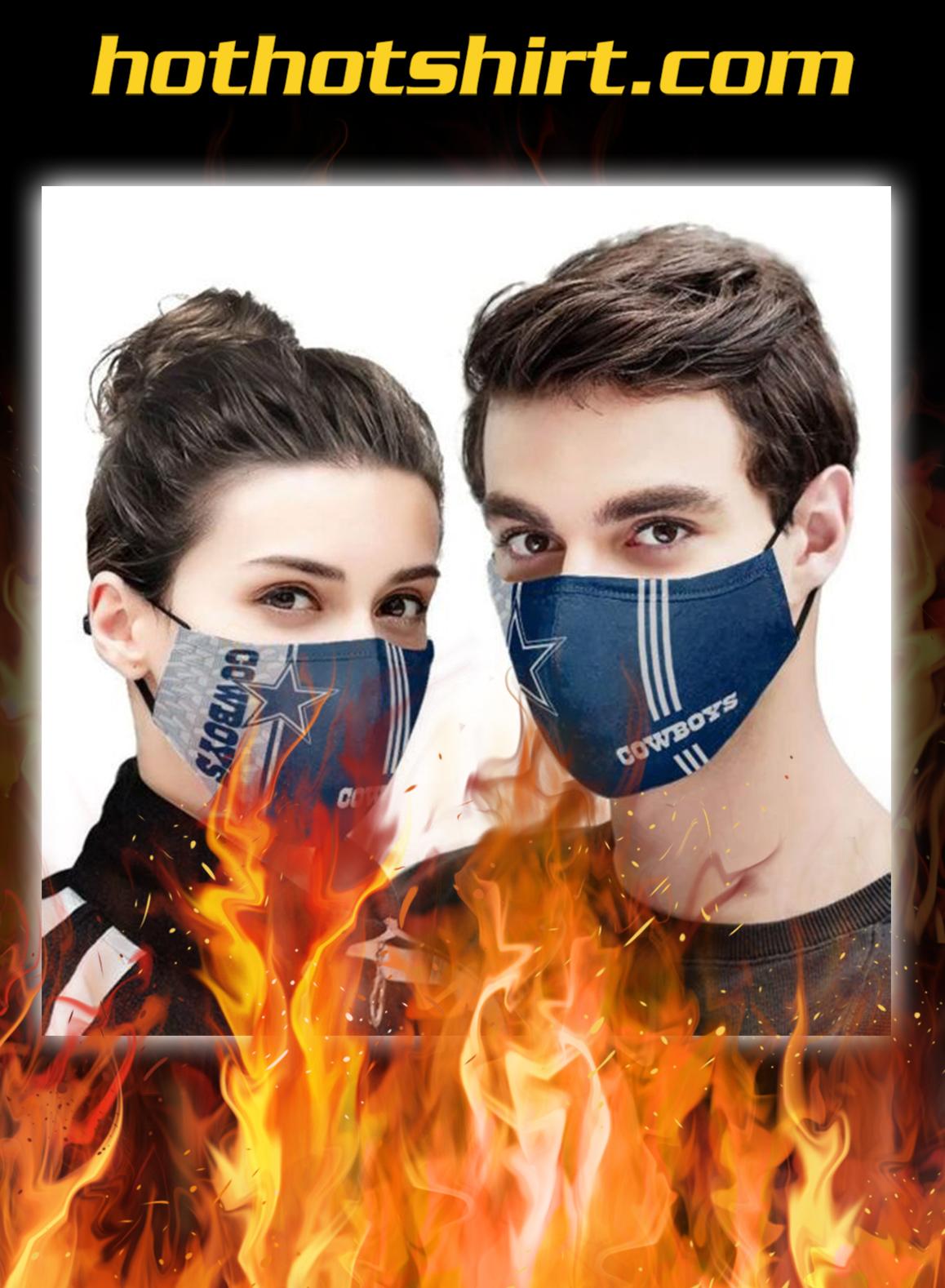 Dallas cowboys 3d face mask - pic 1