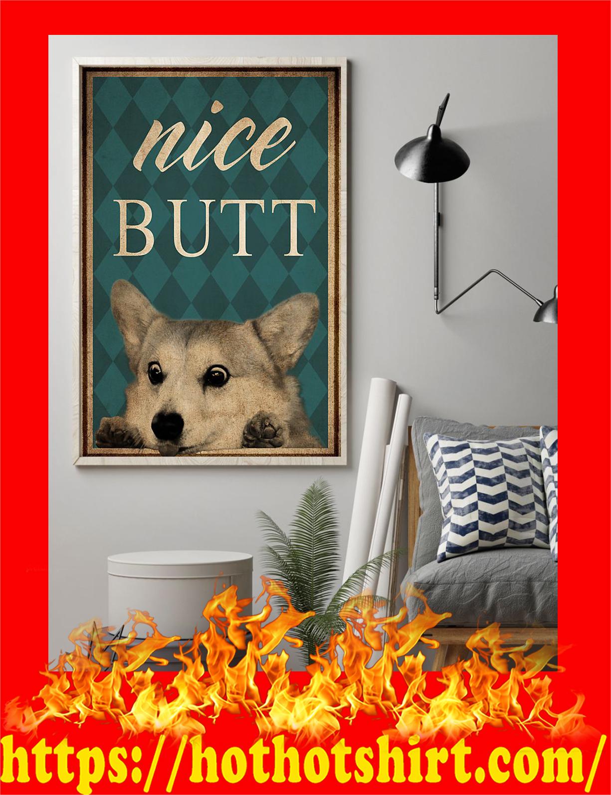 Dog corgi nice butt poster - pic 1