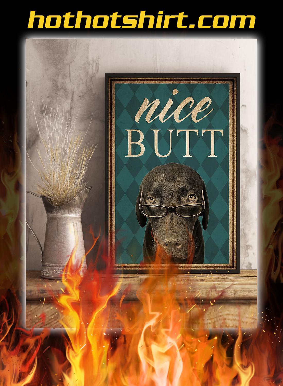 Dog labrador nice butt poster 3