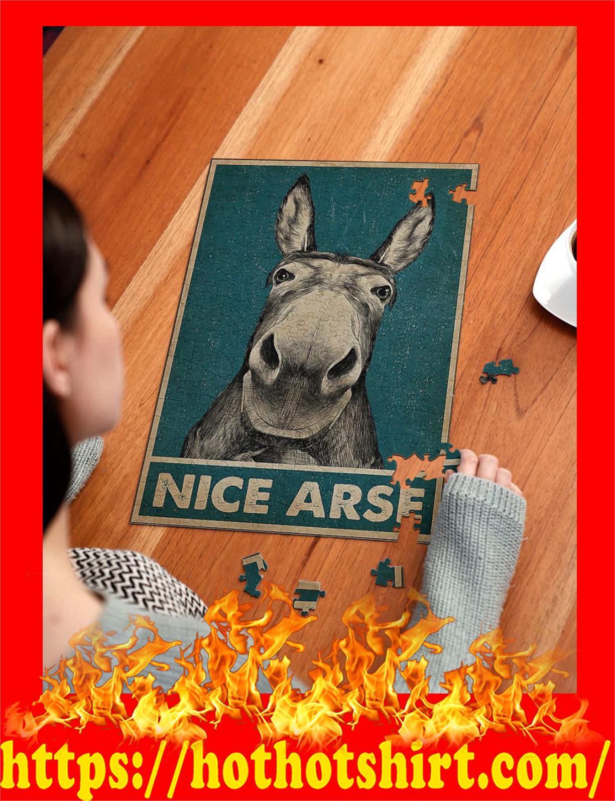 Donkey Nice Arse Jigsaw Puzzles - pic 2