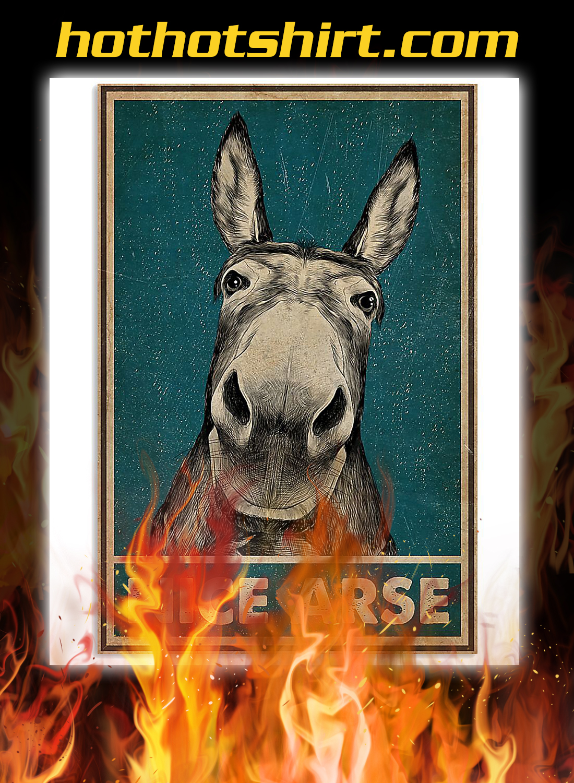 Donkey nice arse poster 3