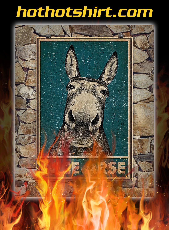 Donkey nice arse poster bdt