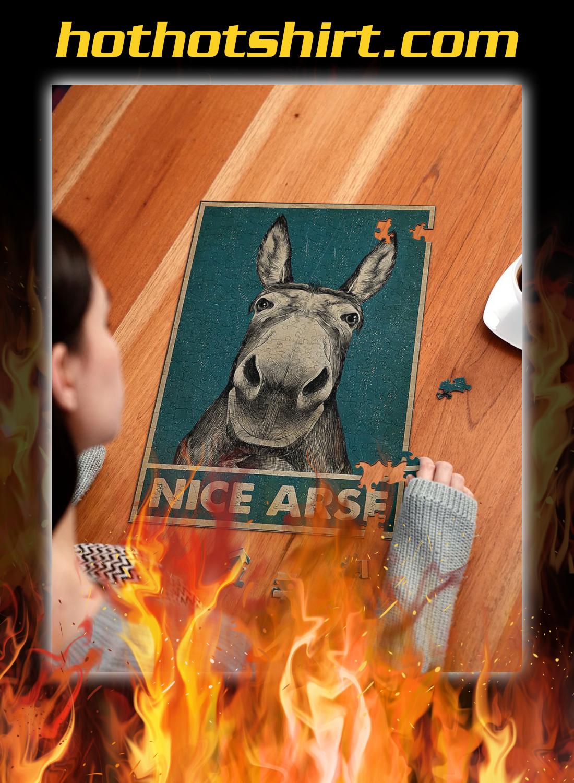 Donkey nice arse puzzles