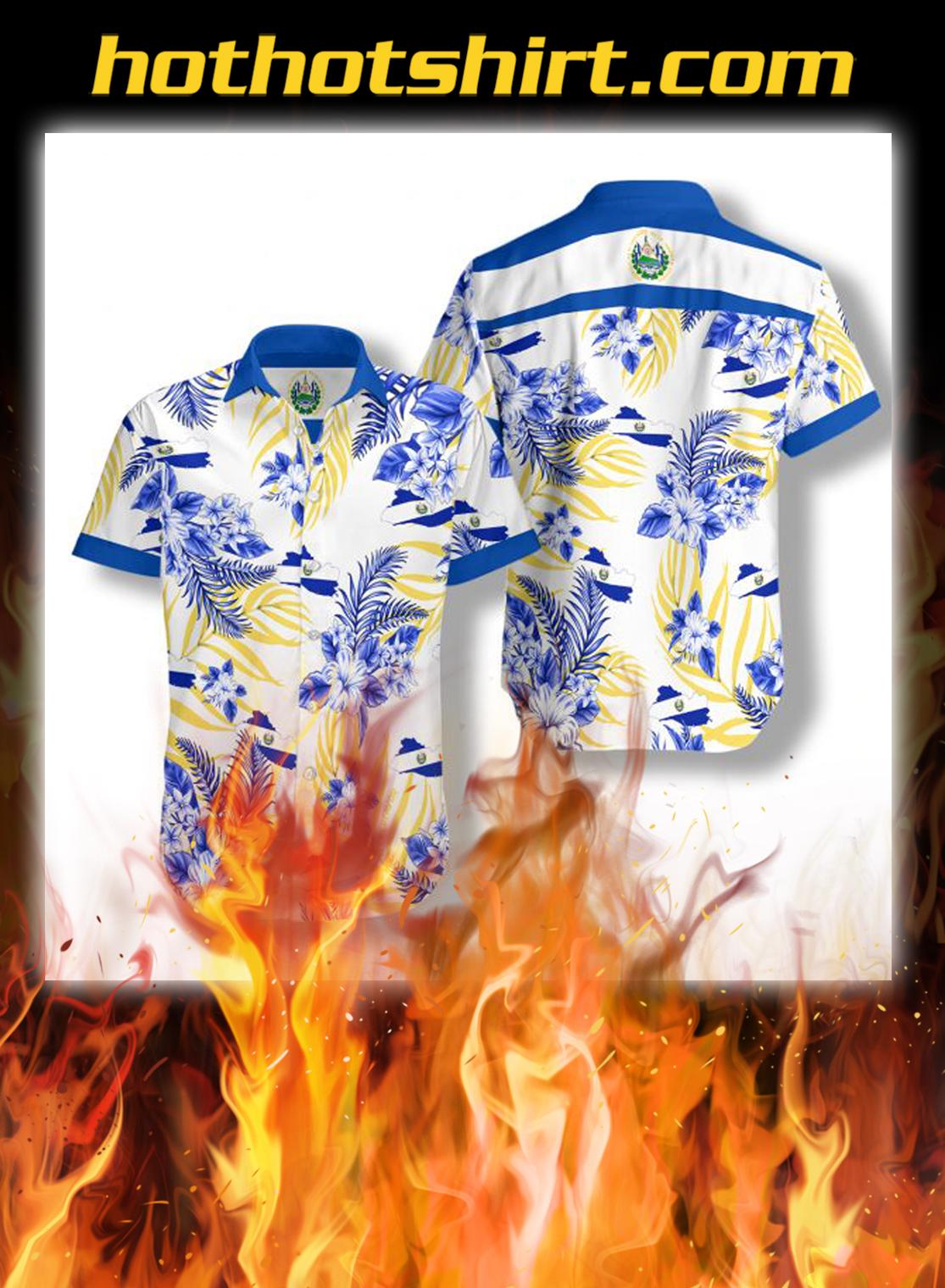 El Salvador hawaiian shirt - S