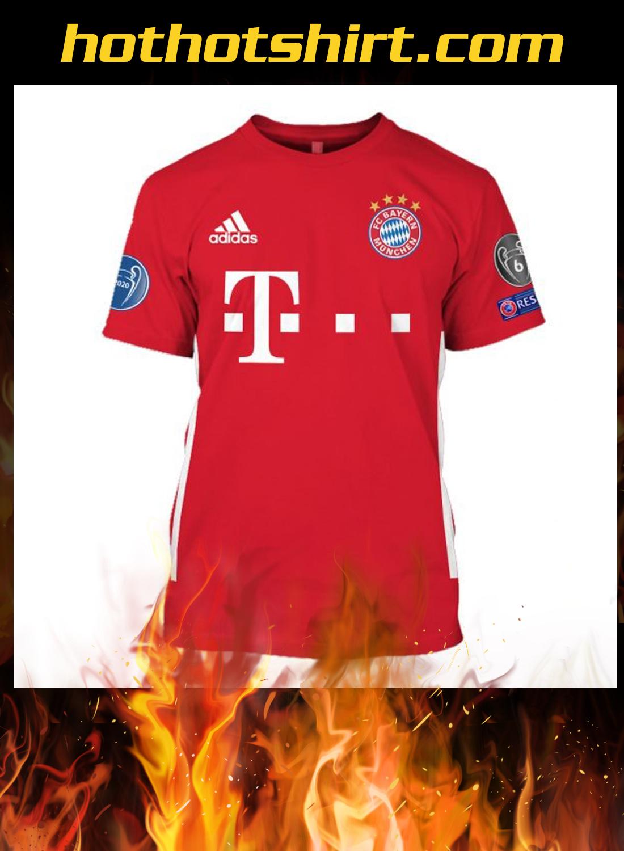 FC Bayern München champions 2020 3d hoodie, shirt 2