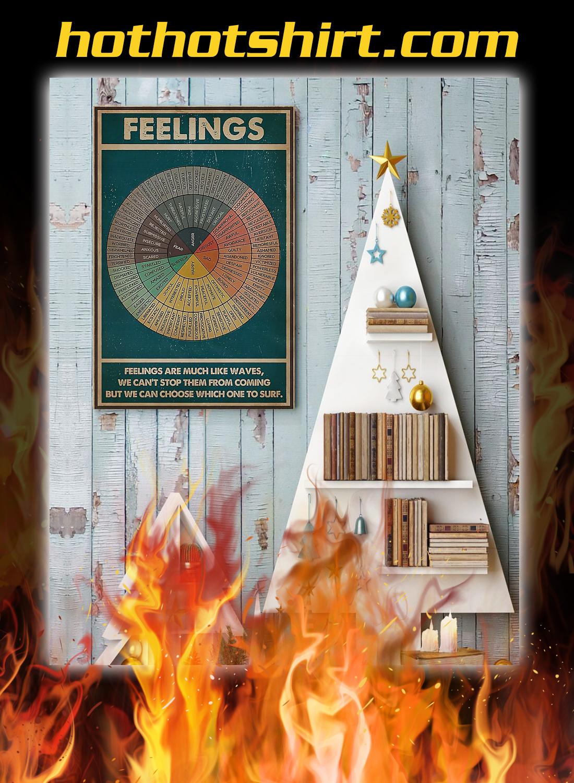 Feelings social worker poster 1