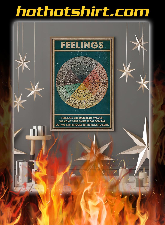 Feelings social worker poster 2