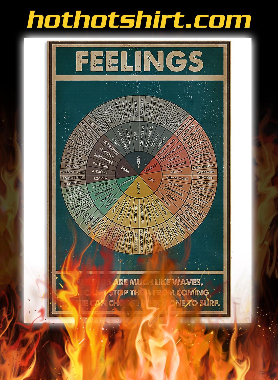 Feelings social worker poster 3