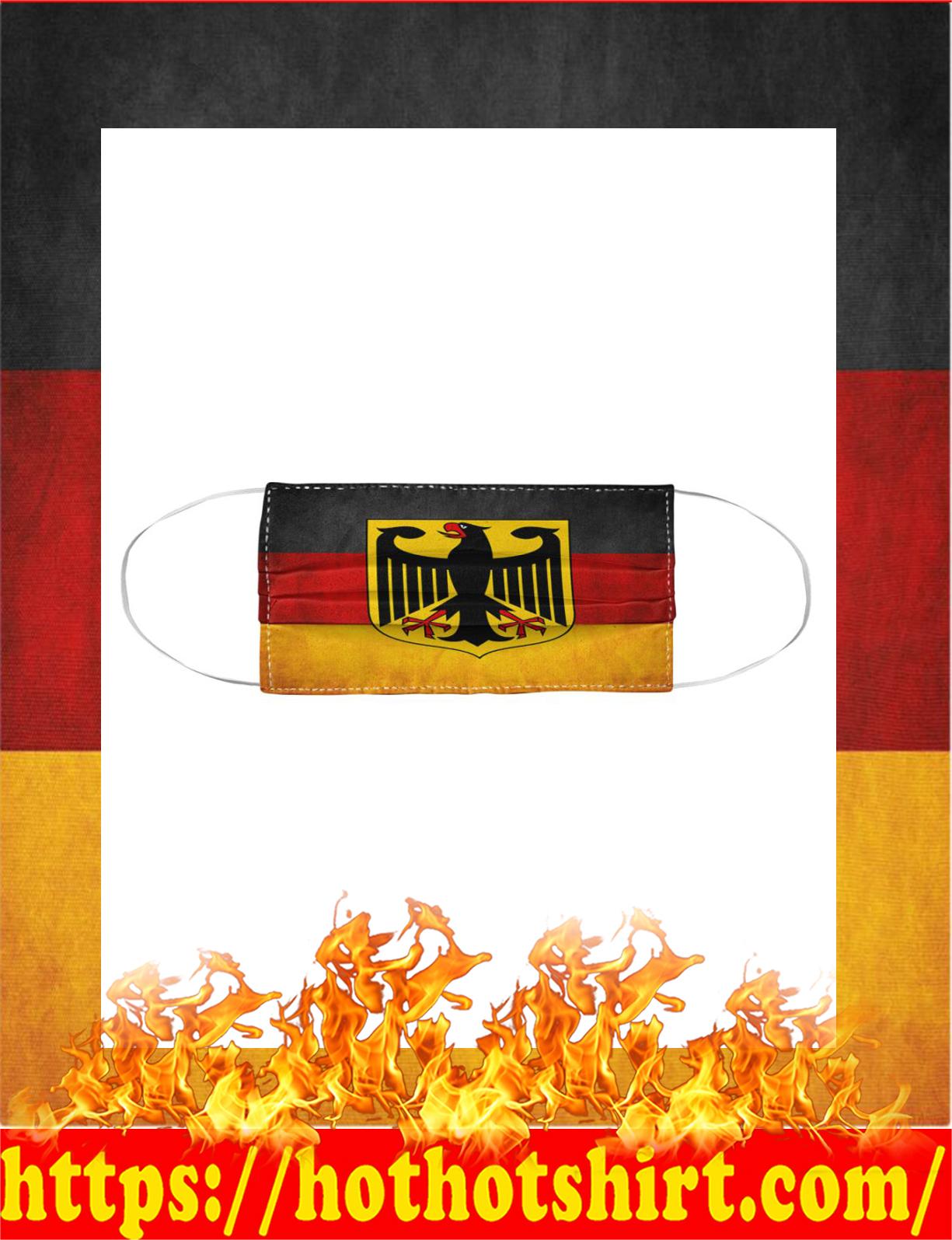 Germany flag face mask - detail
