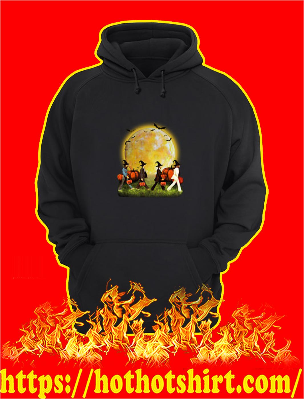 Halloween the beatles abbey road hoodie