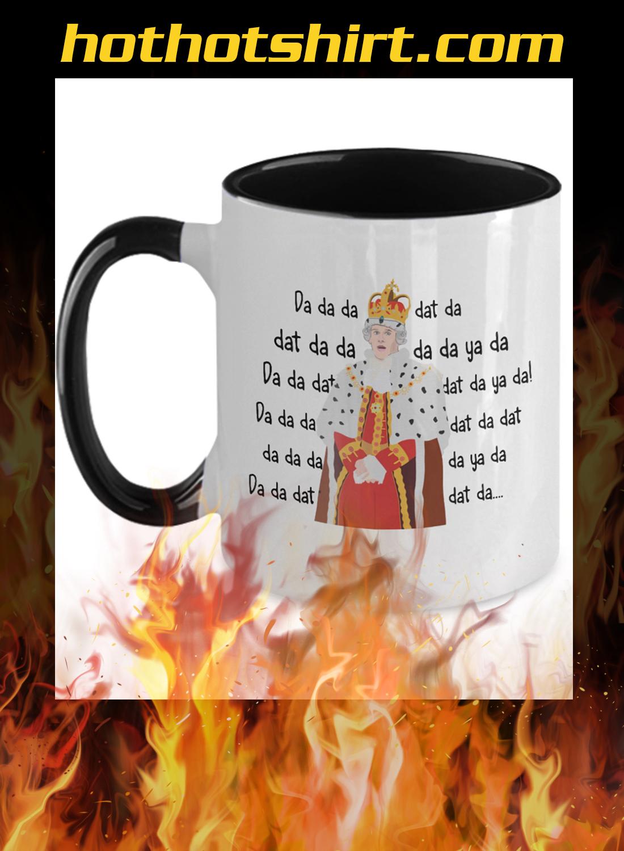 Hamilton king george chorus mug - 1