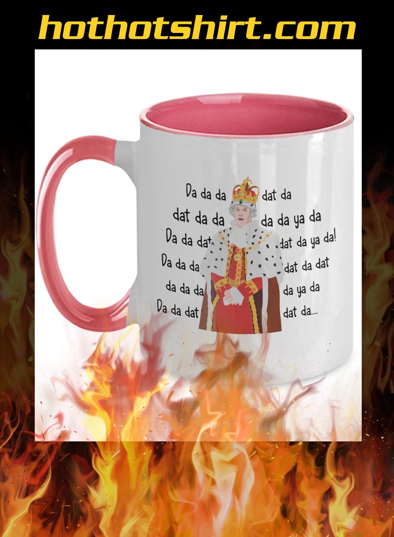 Hamilton king george chorus mug - 3