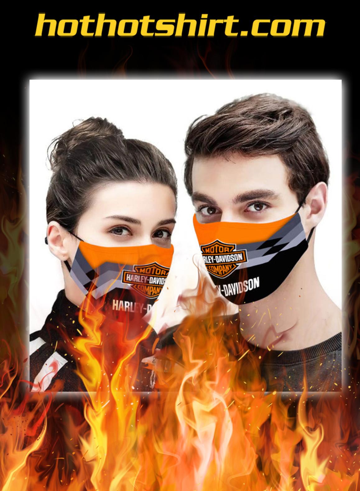 Harley davidson face mask - pic 1