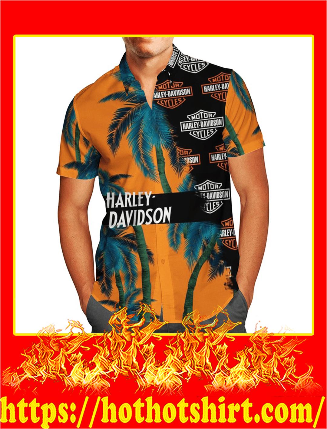 Harley davidson hawaiian shirt- pic 1