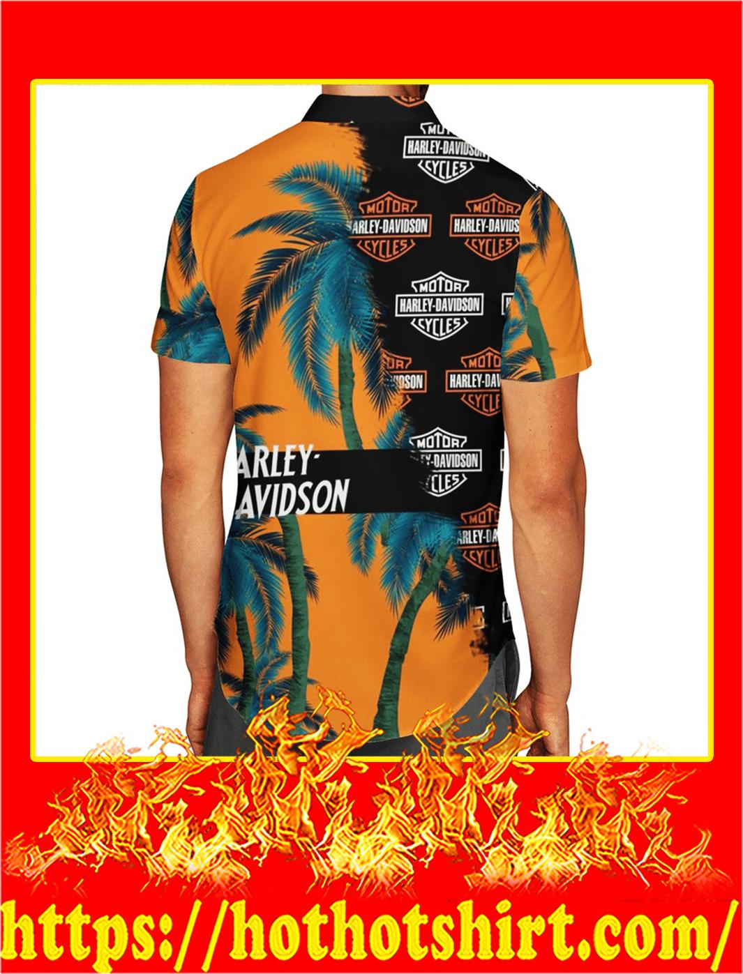 Harley davidson hawaiian shirt- pic 2