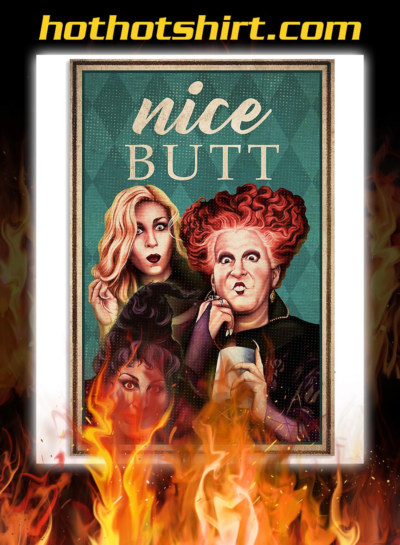 Hocus pocus nice butt poster 1