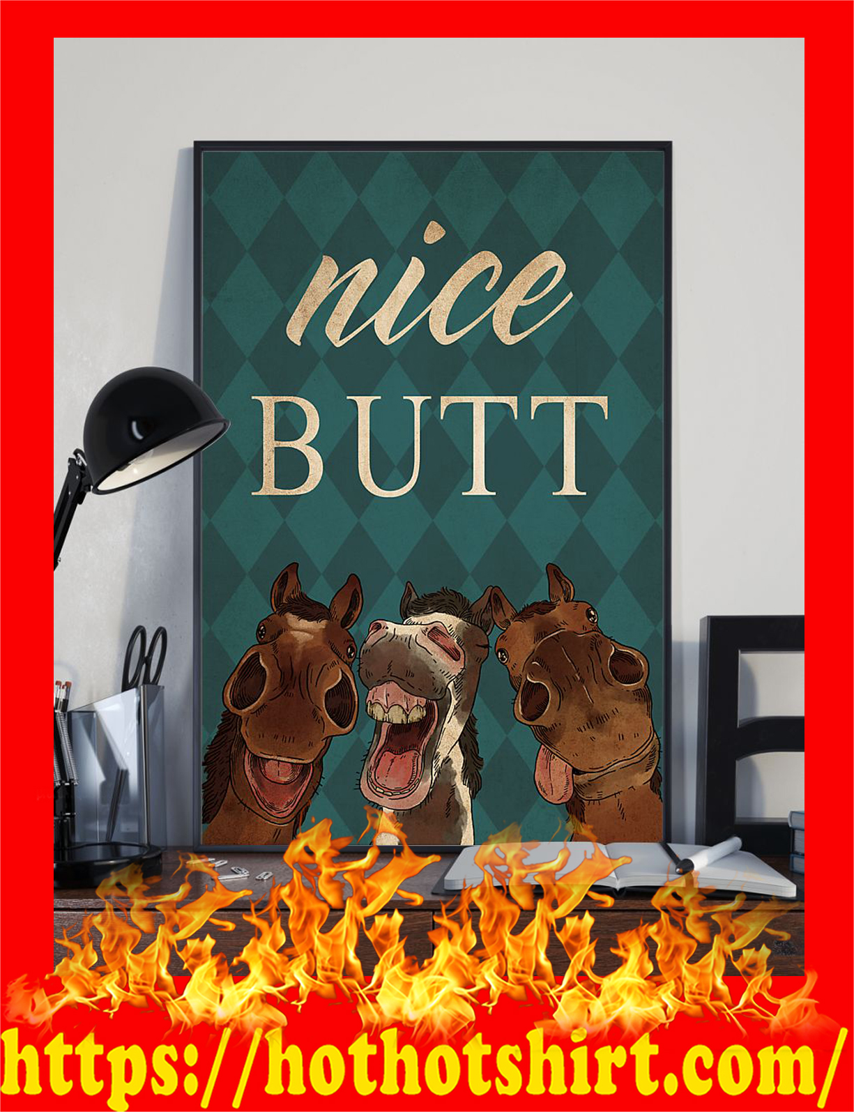 Horse nice butt poster - Pic 1