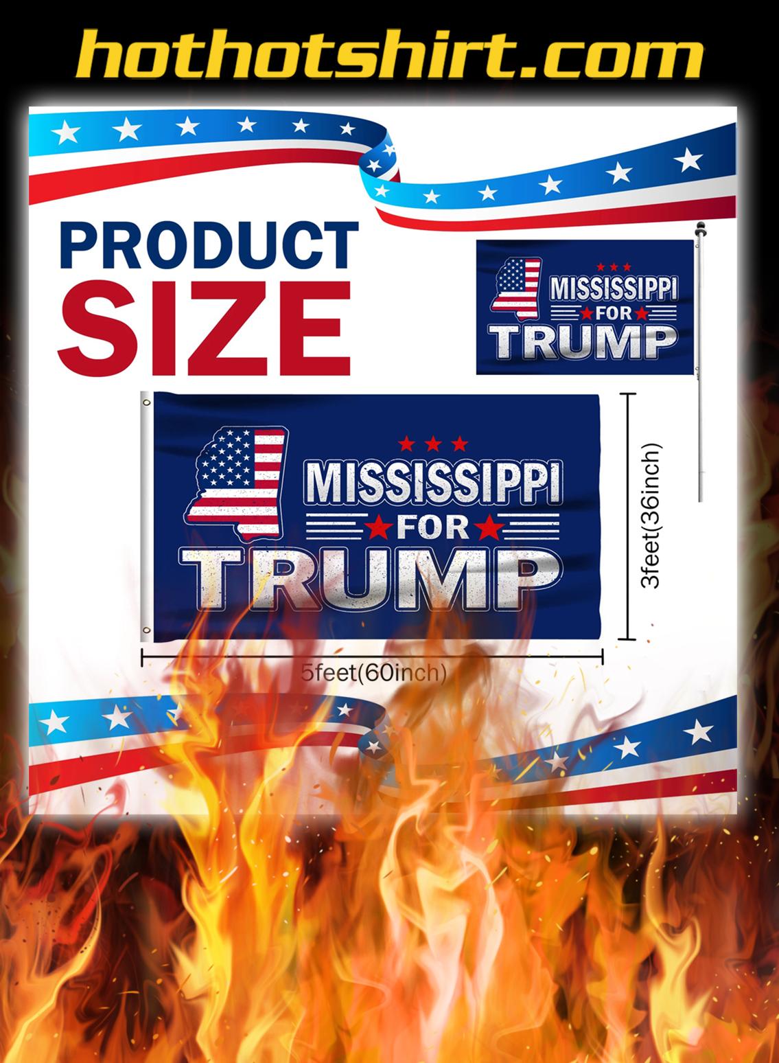 Mississippi For Trump Flag- pic 2