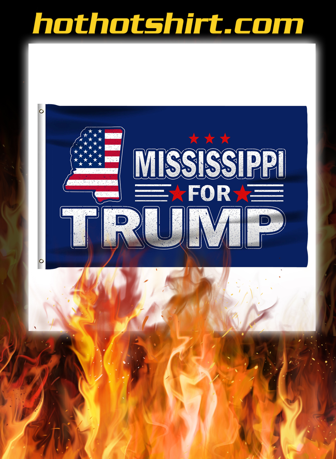 Mississippi For Trump Flag- pic 3