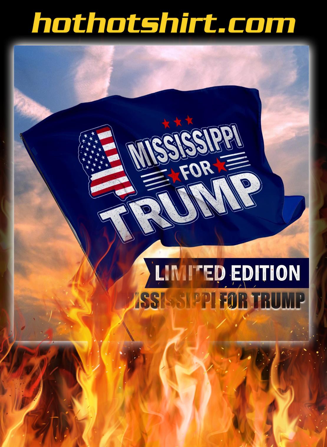 Mississippi For Trump Flag