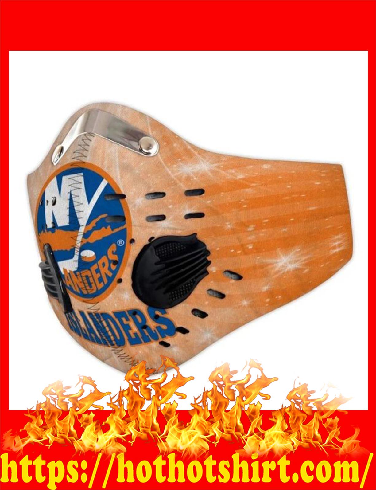 New york islanders filter face mask - detail