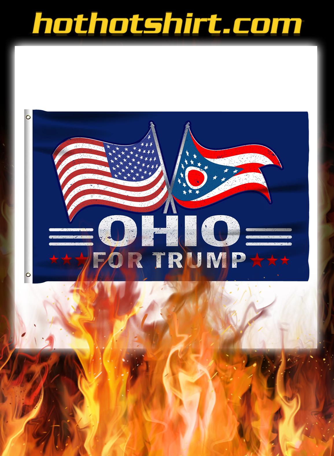 Ohio For Trump Flag- pic 1