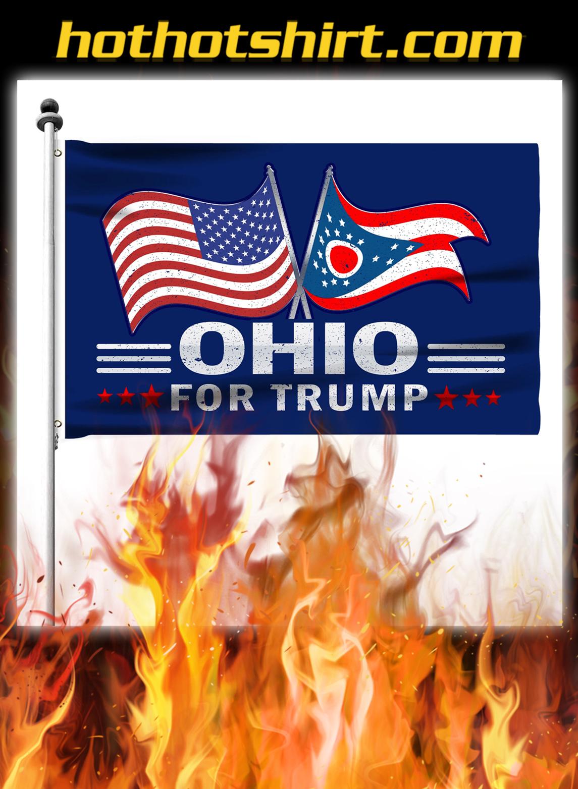 Ohio For Trump Flag- pic 2