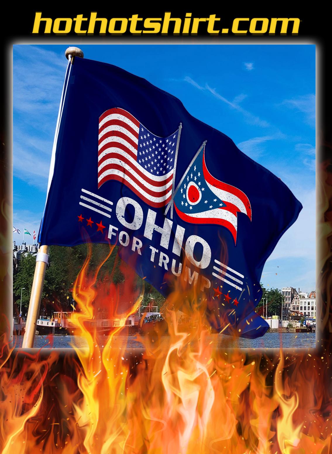 Ohio For Trump Flag- pic 3