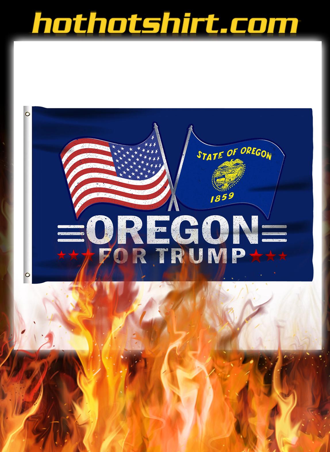 Oregon For Trump Flag- pic 1
