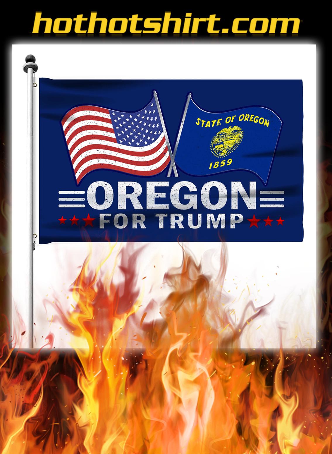 Oregon For Trump Flag- pic 2