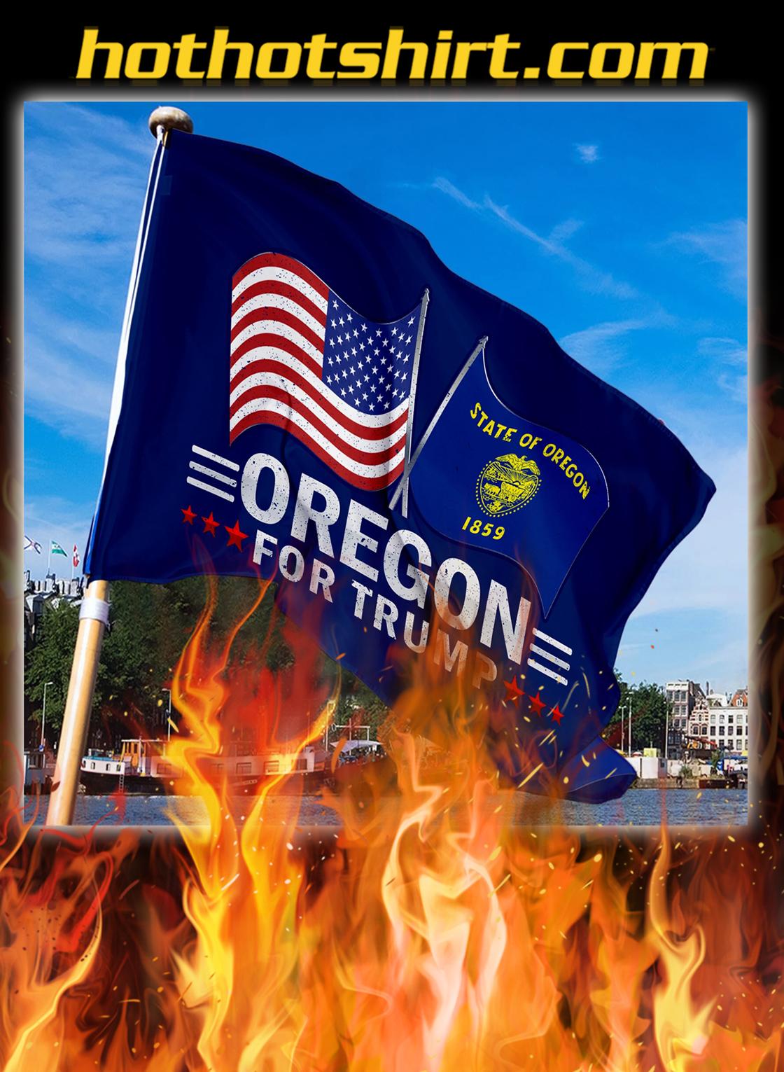 Oregon For Trump Flag- pic 3