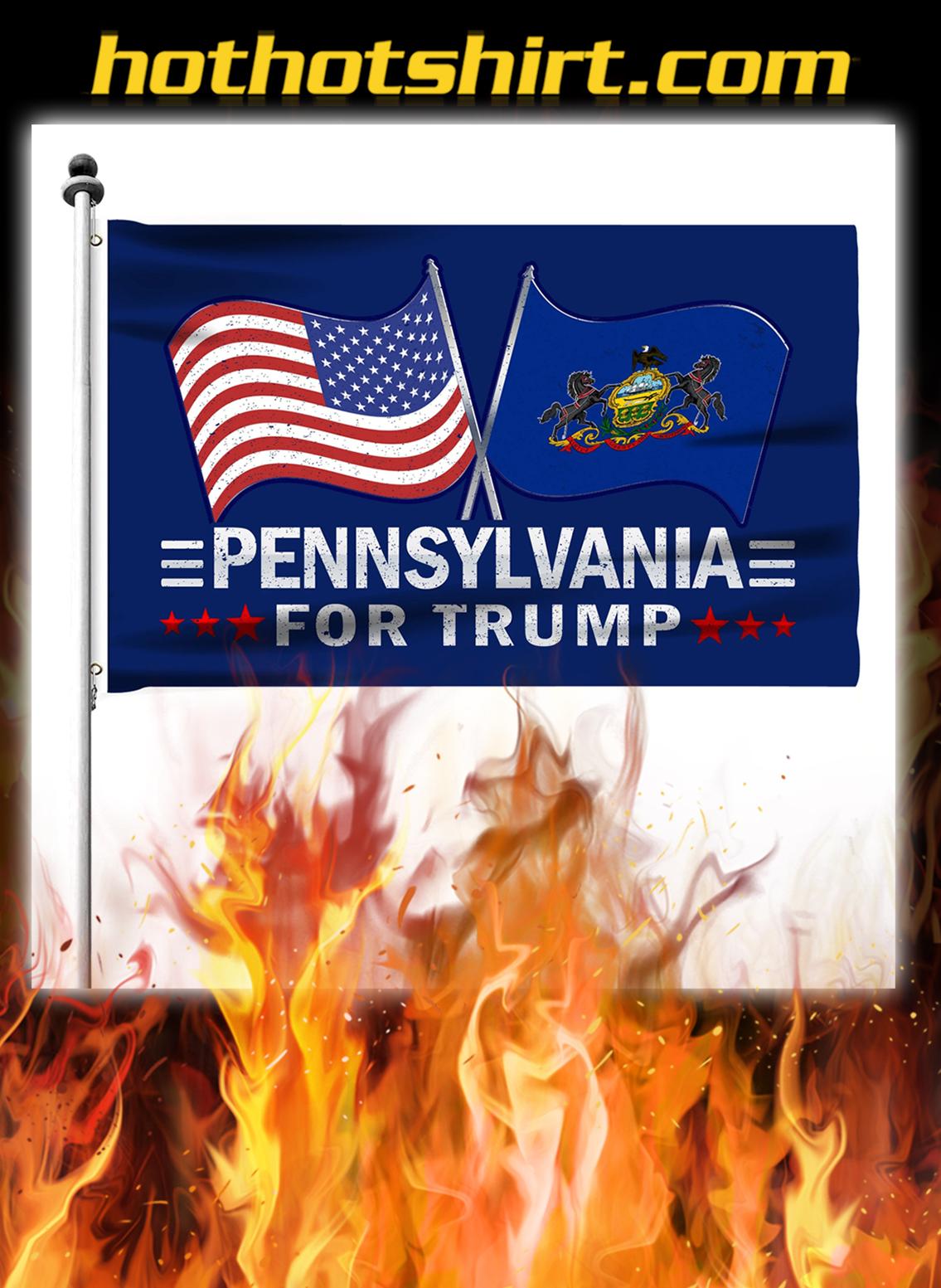 Pennsylvania For Trump Flag- pic 2