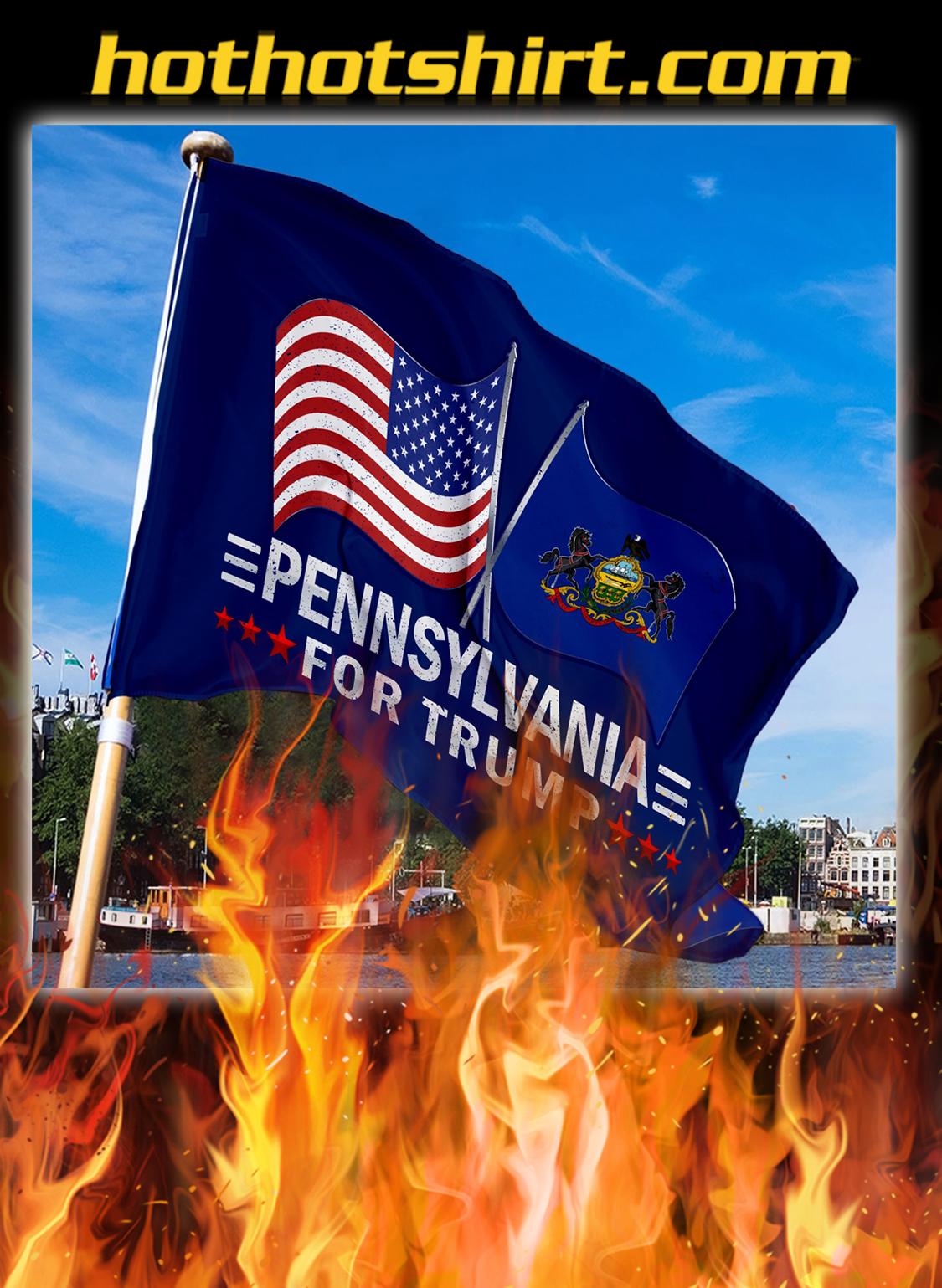 Pennsylvania For Trump Flag- pic 3