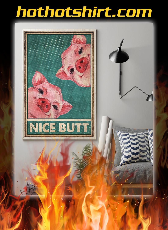 Pig nice butt poster 1