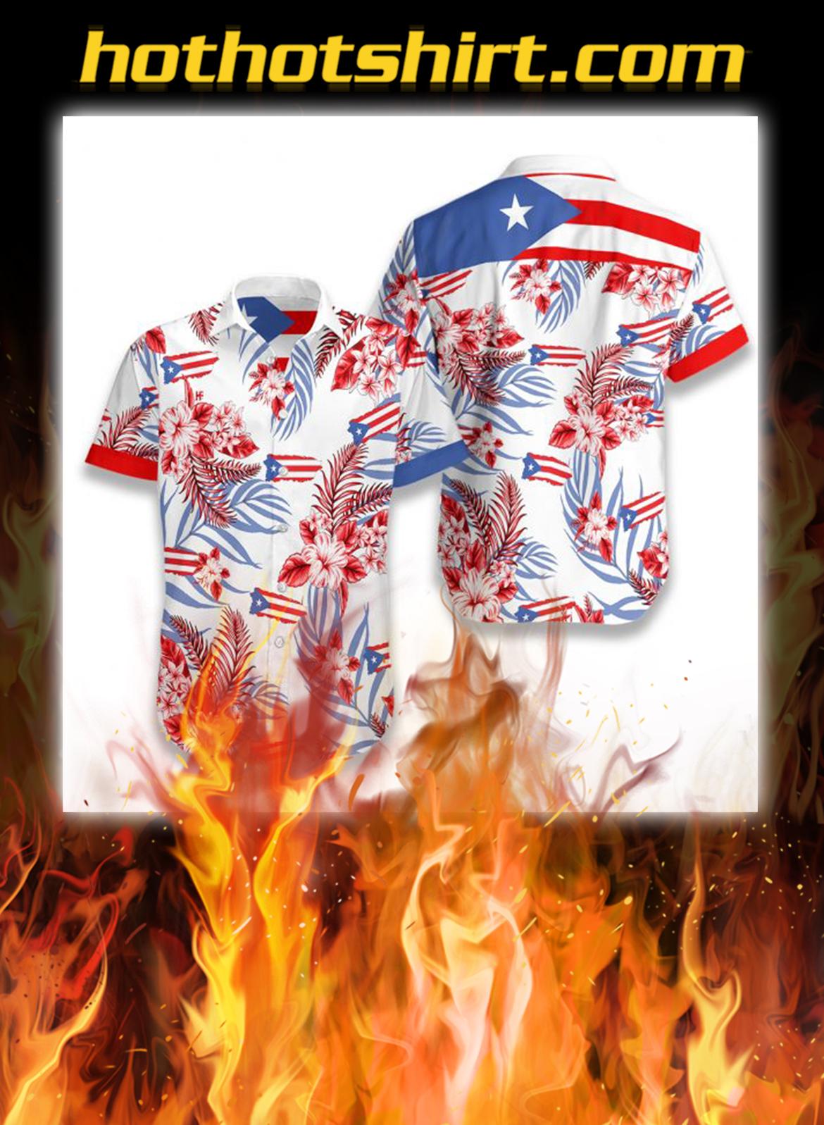 Puerto rico hawaiian shirt - S