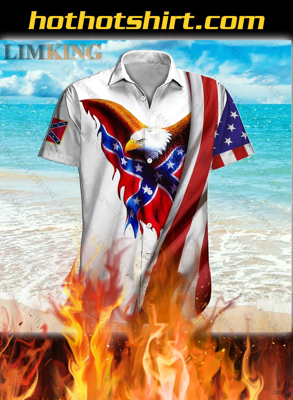 Redneck they reload eagle 3d hawaiian shirt