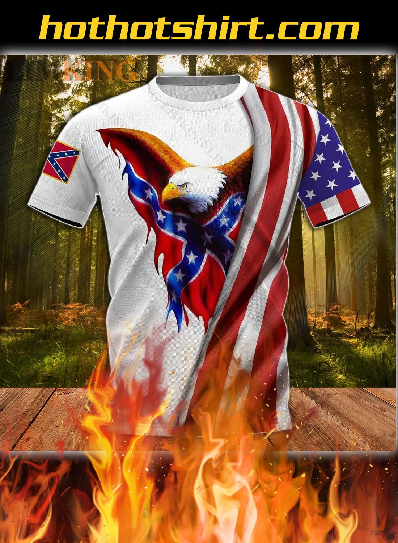 Redneck they reload eagle 3d t-shirt