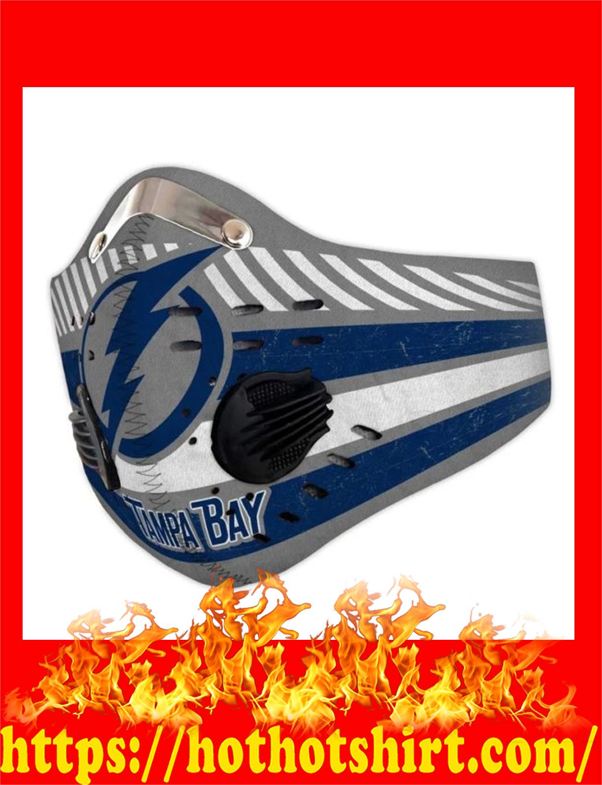 Tampa bay filter face mask - detail