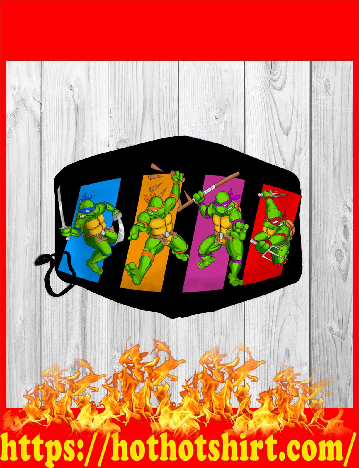 Teenage mutant ninja turtles face mask - detail